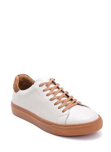 Derimod Erkek Ayakkabı(7601) Sneaker Beyaz